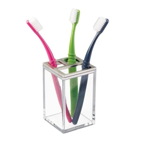 Stojan na zubné kefky InterDesign Clarity