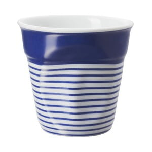 Pohárik  na espresso Froisses 8 cl, modro-biely