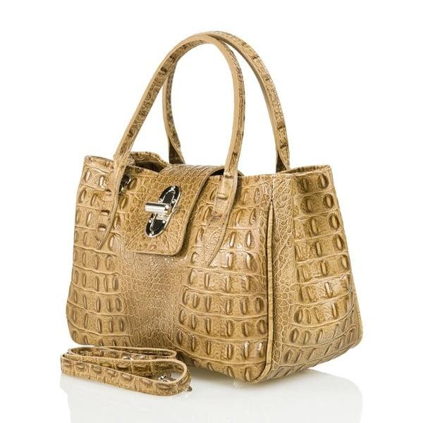 Kožená kabelka Laura, béžová