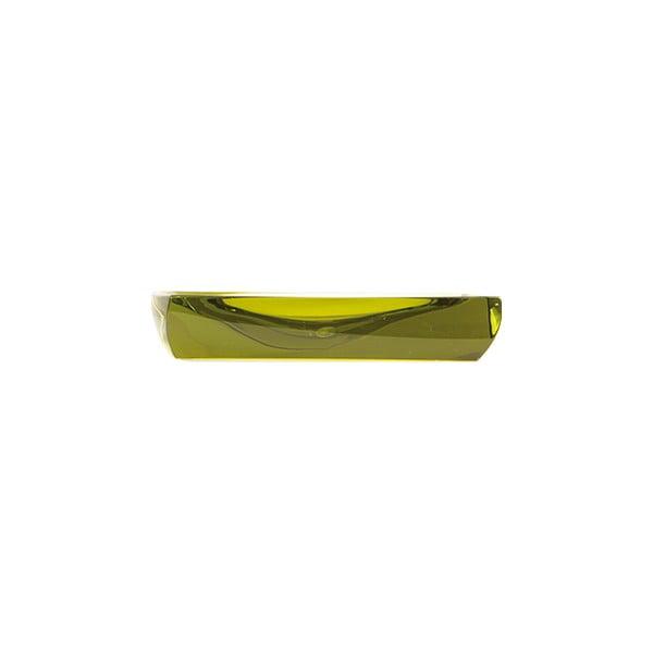 Podložka na mydlo Transparent Pistachio