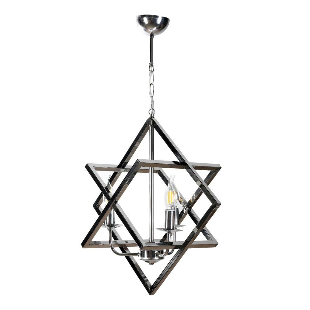 Závesné kovové svietidlo Masivworks Trigon