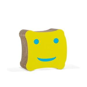 Detská kartónová stolička Biscotto Yellow