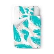 Obliečky Blue Feathers 140x200 cm