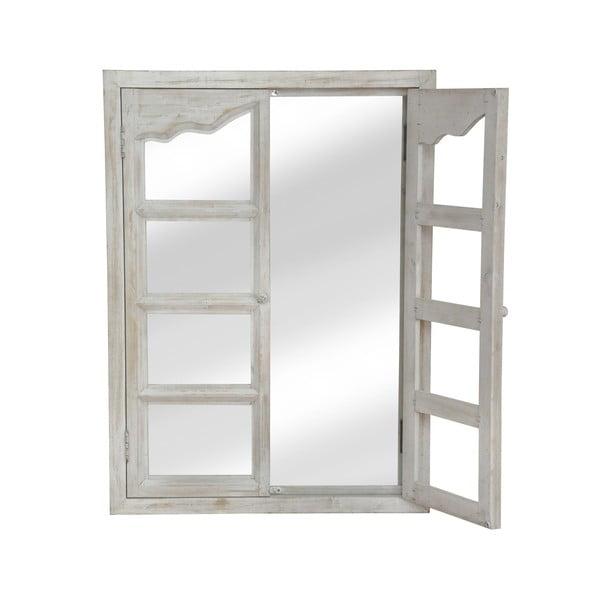 Zrkadlo White Window, 86x68 cm
