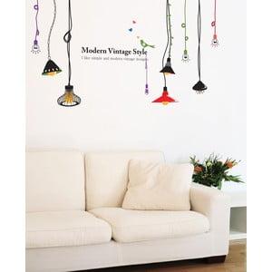 Samolepka Ambiance Colored Lamps