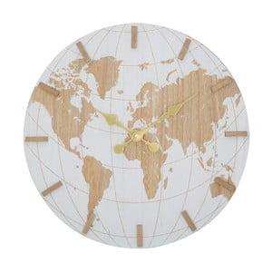 Nástenné hodiny Mauro Ferretti White World, ⌀39cm
