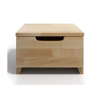 Nočný stolík z bukového dreva so zásuvkou SKANDICA Spectrum