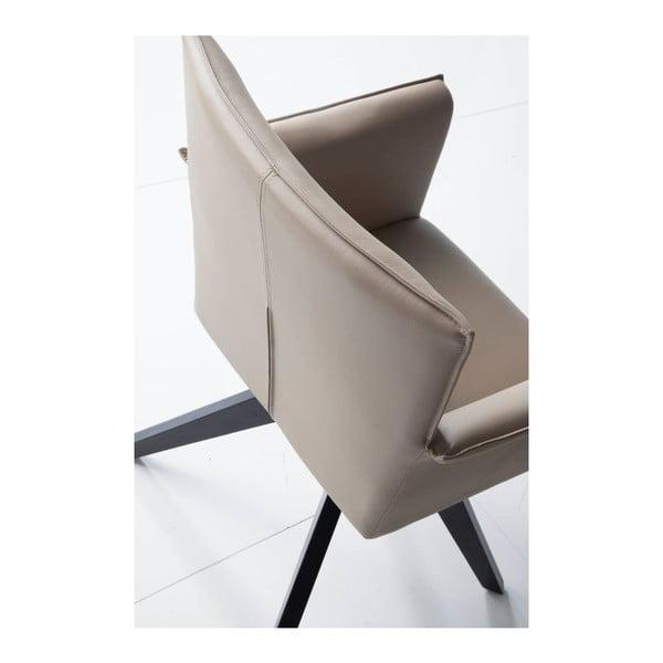 Béžová otočná stolička Ángel Cerdá Patty