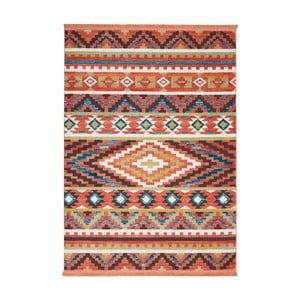 Koberec Nourison Navajo Orange, 130x66 cm