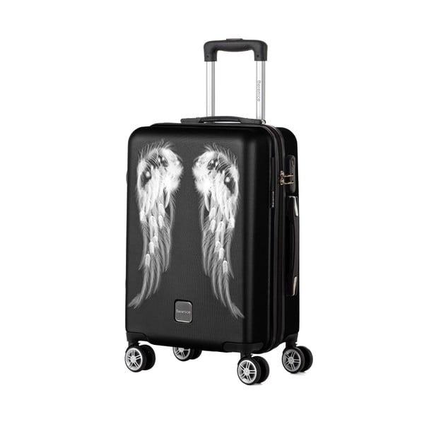 Čierny cestovný kufor Berenice Wings, 44 l