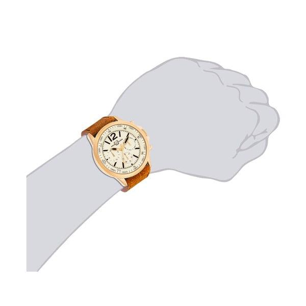 Pánske hodinky Spike Brown Gold