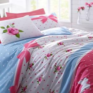 Obliečky s plachtou Papillon Pink, 200x220 cm