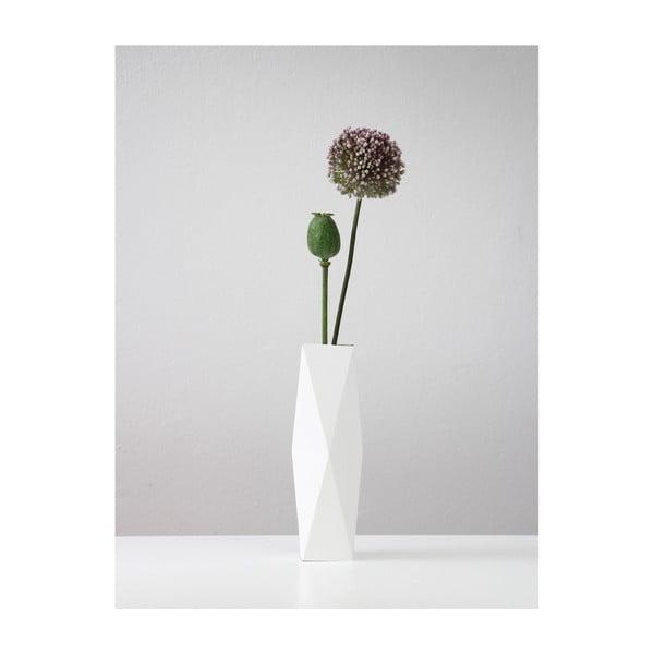 Skladacie origami váza SNUG.White
