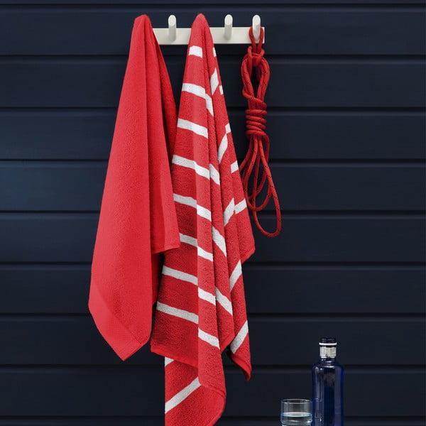 Osuška Menton Red, 70x140cm