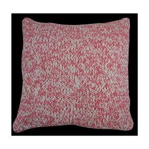 Vankúš Double Knit Pink, 45x45 cm