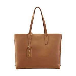 Hnedá kožená kabelka Maison Bag Nola
