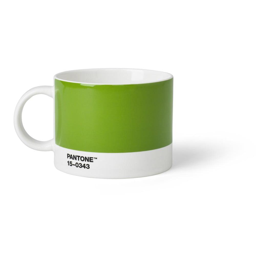 Zelený hrnček na čaj Pantone, 475 ml