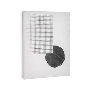 Biely obraz La Forma Prism, 40 × 30 cm