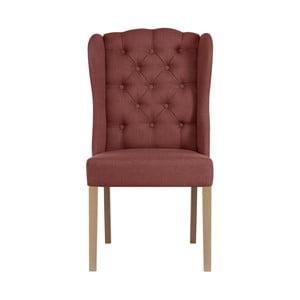 Tehlovočervená stolička Jalouse Maison Hailey