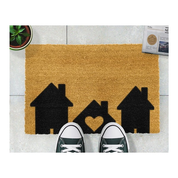 Rohožka Artsy Doormats Home is Where, 40 x 60 cm