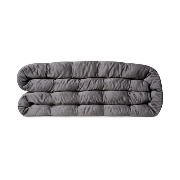 Prikrývka na posteľ Versailles Cement, 270x270 cm