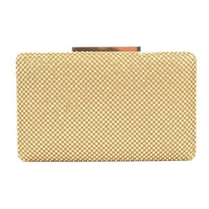 Listová kabelka v zlatej farbe Renata Corsi Malisso