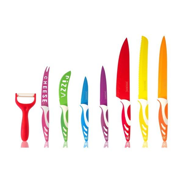 Sada 5 nožov, škrabky a nožníc Line