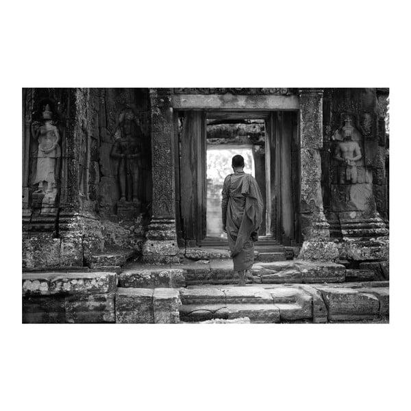 Obraz Black&White Temple, 45 x 70 cm