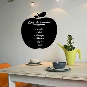 Tabuľová samolepka s tekutou kriedou Ambiance Apple Blackboard