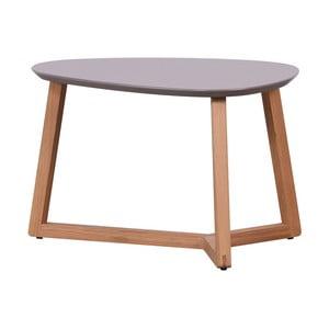 Konferenčný stolík so sivou doskou Artemob Marina, 40×60 cm