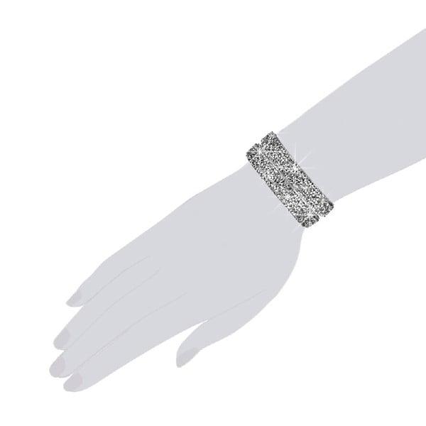 Náramok Silver Shine, 38 cm