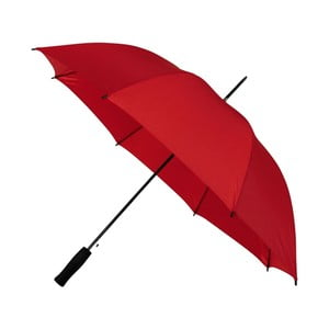 Červený vetruodolný dáždnik Ambiance, ⌀ 102 cm