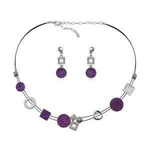Set náhrdelníka a náušníc s krištáľmi Swarovski Elements Crystals Seraphine