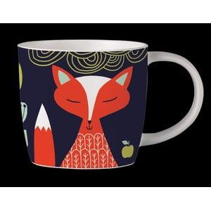 Hrnček z kostného porcelánu Folkland Foxy