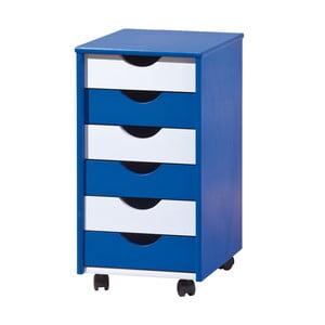 Modro-biela komoda 13Casa Office