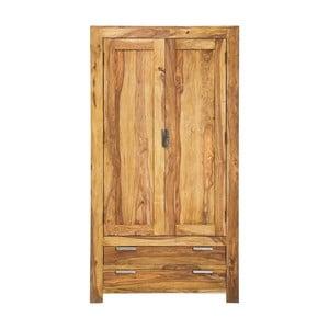 Drevená dvoudvéřová komoda Kare Design Authentico, 105 × 200cm