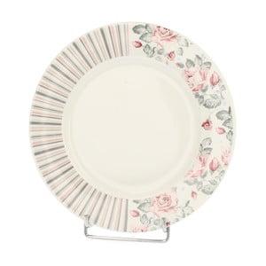 Porcelánový tanier Ruža, 20 cm