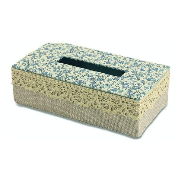 Krabička na vreckovky Flora