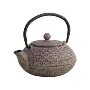 Hnedá čajová kanvica so sitkom Brandan Cast, 600 ml