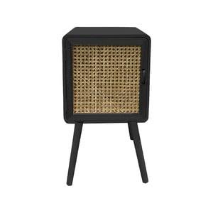 Nočný stolík z dreva Paulownia Leitmotiv Retro