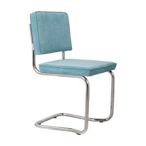 Sada 2 modrých stoličiek Zuiver Ridge King Rib