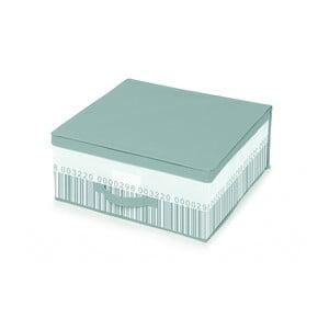 Zeleno-biely úložný box pod posteľ Cosatto Bright, 45 x 45 cm