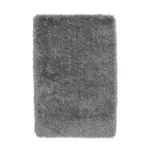 Sivý ručne tuftovaný koberec Think Rugs Monte Carlo Silver, 100×150 cm