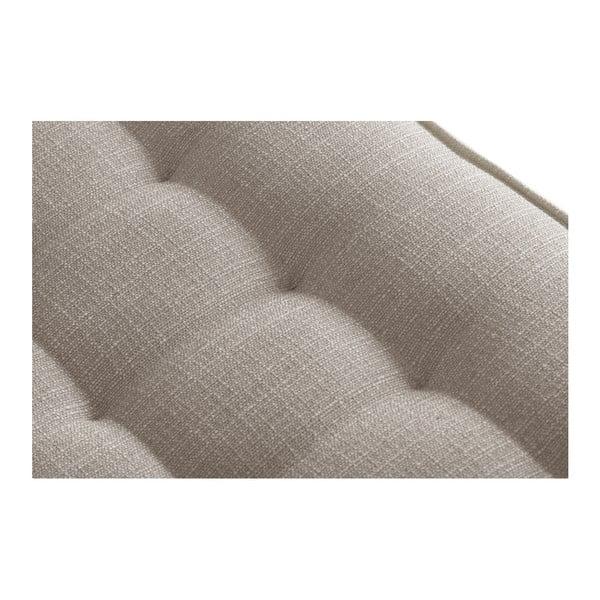 Béžová trojmiestna pohovka s detailmi v krémovej farbe Stella Cadente Maison Atalaia Beige