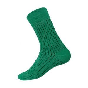 Ponožky Mini Dots Green, veľkosť 40-44