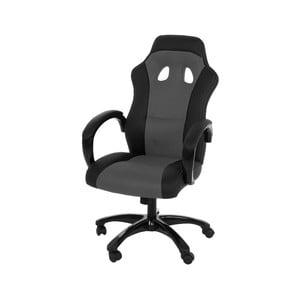 Sivá kancelárska stolička Actona Race