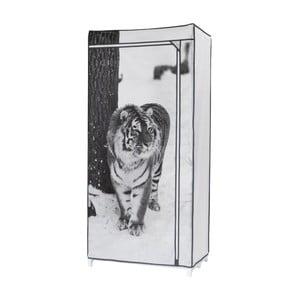 Textilná šatníková skriňa Compactor Tiger