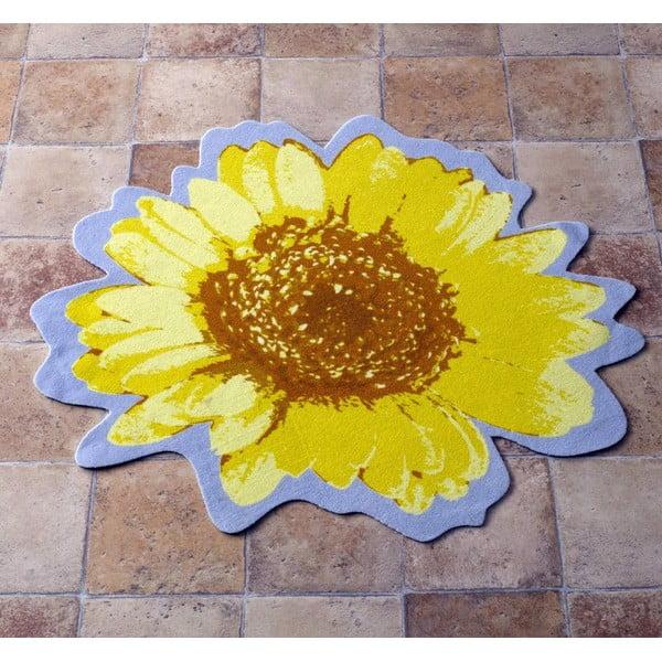 Koberec Special - žltý kvet, 100 cm