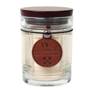 Vonná sviečka Woodwick Vanilka, 60 hodín