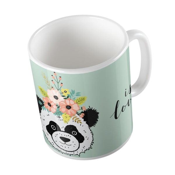 Hrnček Butter Kings Panda With Flowers